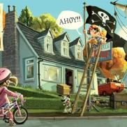 "Jonny Duddle's ""Pirates Next Door"""