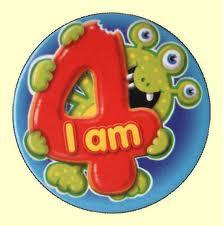 I am 4