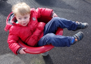Spinning boy!