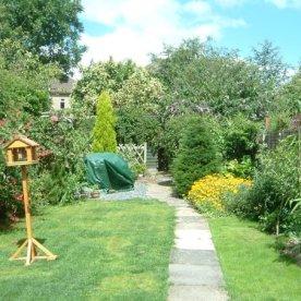 Mature garden 2008
