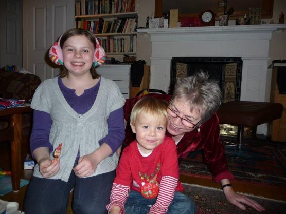 mum, kellie and joe