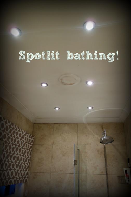 Spotlit bathing