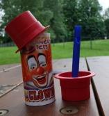 Ferry destination - clown ice cream