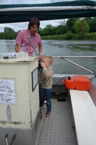 Ferry - JJ driving