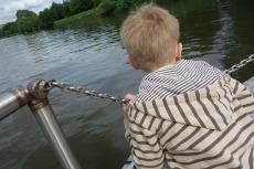 Ferry journey back