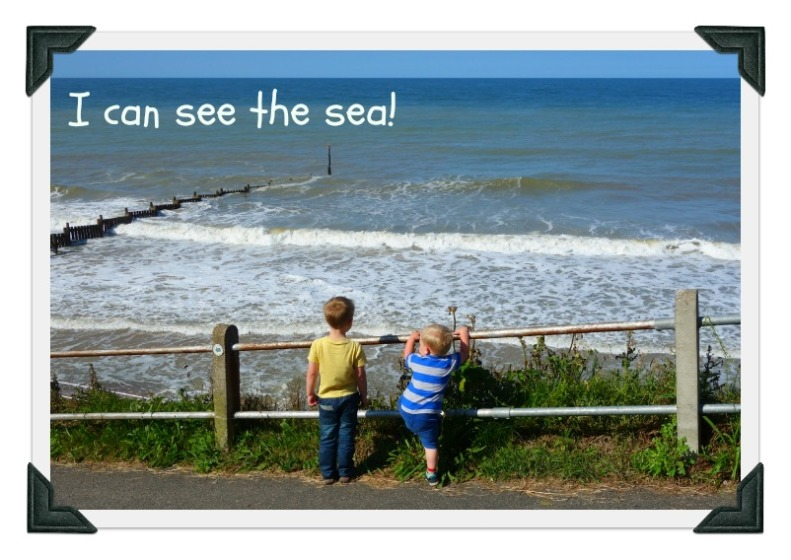 I can see the sea!