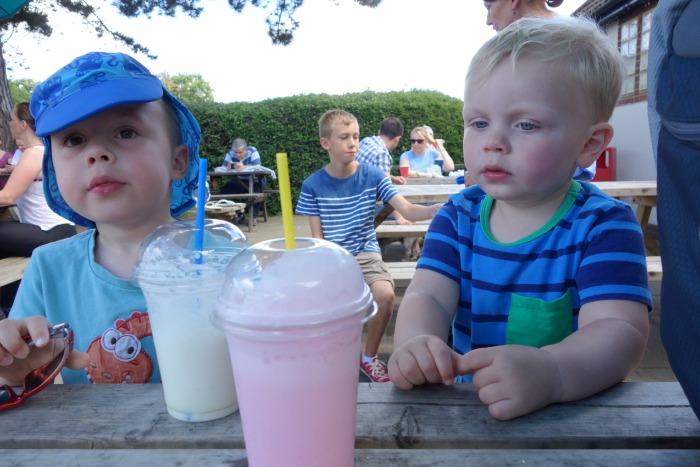 Milkshakes - before the spill