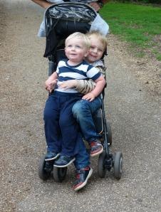 Norfolk 2 boys 1 buggy