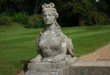 Norfolk - Blickling sphinx