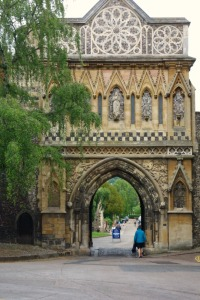 Norfolk Cathedral gate