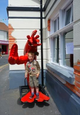 Norfolk JJ lobster Sheringham