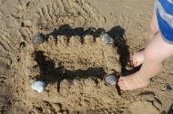 Norfolk sand castle