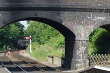 Norfolk - train leaving