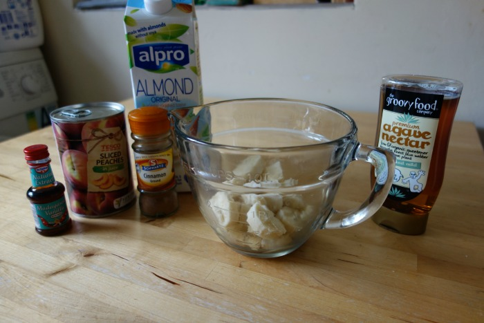 peach & banana lolly ingredients