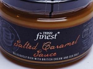 Tesco salted caramel sauce