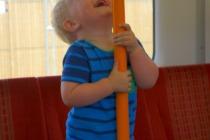 Train adventures - laughter