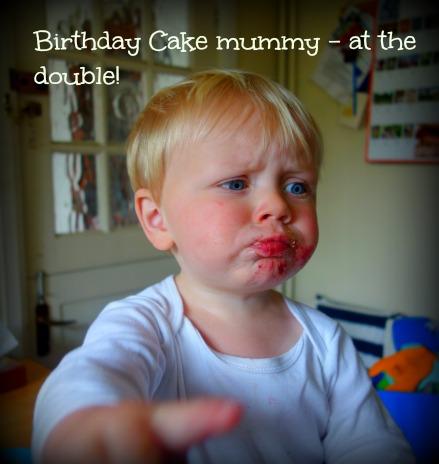 Birthday Cake mummy!
