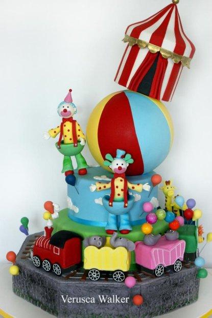 circus cake - professional