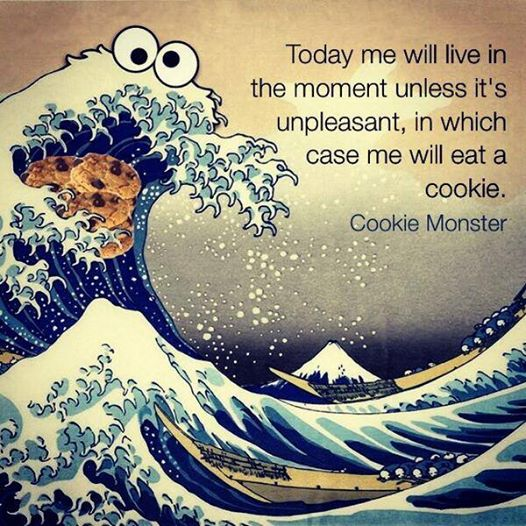 Cookie monster mindfulness