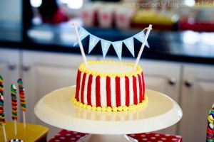 'easy' circus cake
