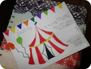 invitation (circus)