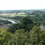 Arundel - view from Keep
