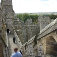 Arundel view from steps
