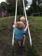 Boys at park