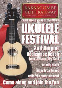 ukelele festival poster