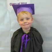 Graduating pre-school