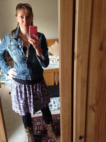 New flippy skirt
