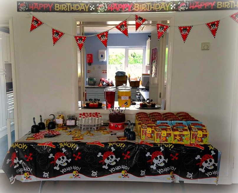 Pirate party spread