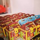 Pirate treasure lunch boxes