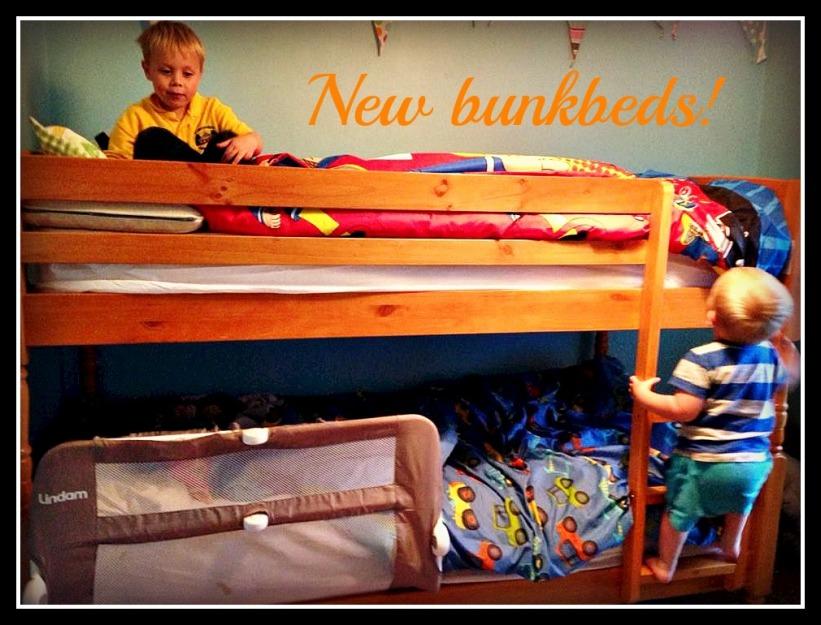 New bunkbeds!